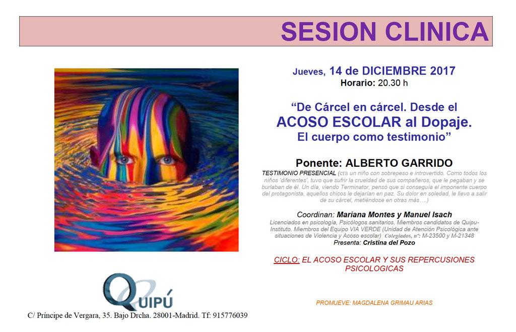 Desde el acoso escolar al dopaje: el testimonio de Alberto Garrido