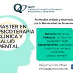 Máster en Psicología Clínica y Salud Mental