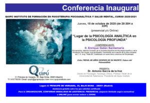 Conferencia Inaugural Quipú Instituto de Formación