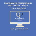 Programa de Formación en Psicoterapia Clínica curso 2021/22