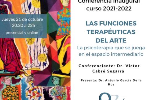 cartel conferencia inaugural Quipú instituto de formación curso 2021-2022